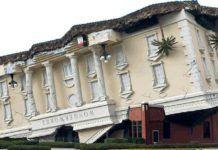 WonderWorks Orlando, huset som är upp oc ned.