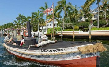 African Queen, Key Largo.