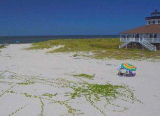 Boca Grande och Gasparilla Island, Florida stränder sydväst