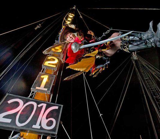 New Year Key West. Fira nyår i Key West, New Years Eve Florida