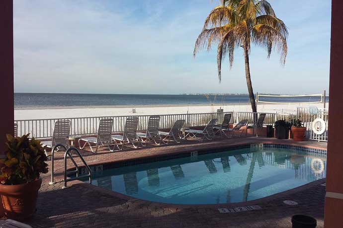 boka hotell Fort Myers. Edison Beach House Hotel Fort Myers