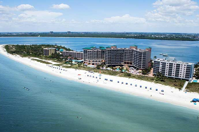 Favorithotell Fort Myers. Pink Shell Beach Resort