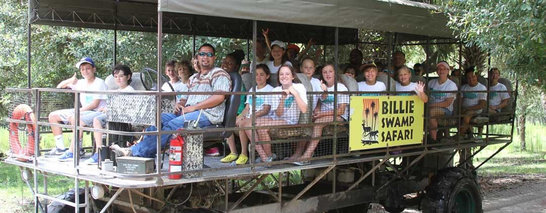 Ah-Tah-Thi-Ki och Billie Swamp Safari