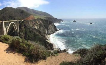 Pacific Coast Highway. Big Sur, Kalifornien