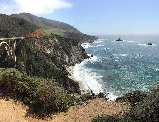 Pacific Coast Highway. Kalifornien-resan
