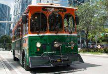 Fyra gratisbussar i Miami Beach