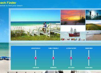 Visit Florida beach finder