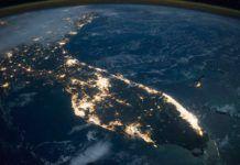 Florida från rymden, områden i florida, svar om orkanen Irma