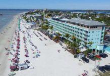 Fort Myers Beach, sydvästra Florida