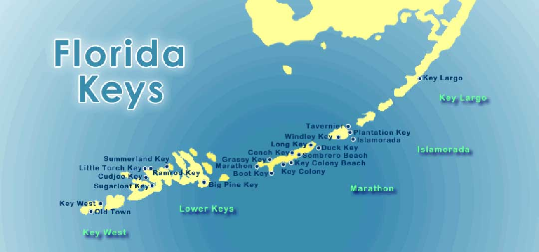 Florida Keys karta