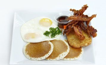 Breakfast at Florida hotels, Hotellfrukost, Desayuno Florida hotel, Frühstück in Hotels