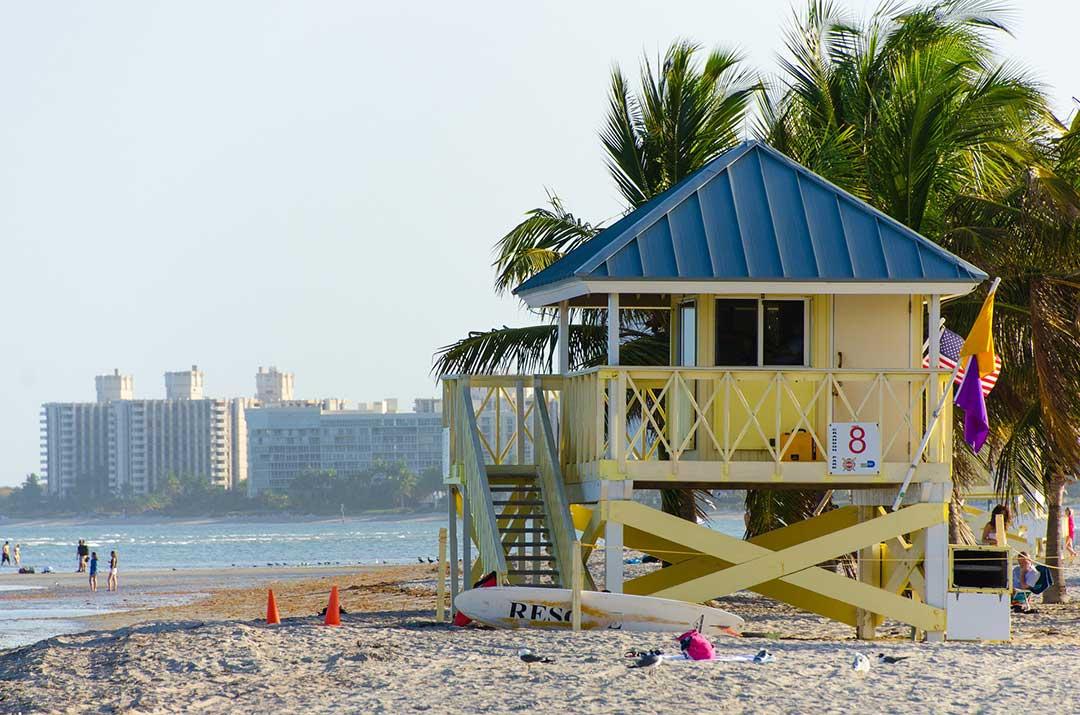 Crandon Park, Miami. Utflyktsmål i Miami