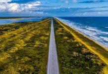 Florida före resan. Östkusten i Florida