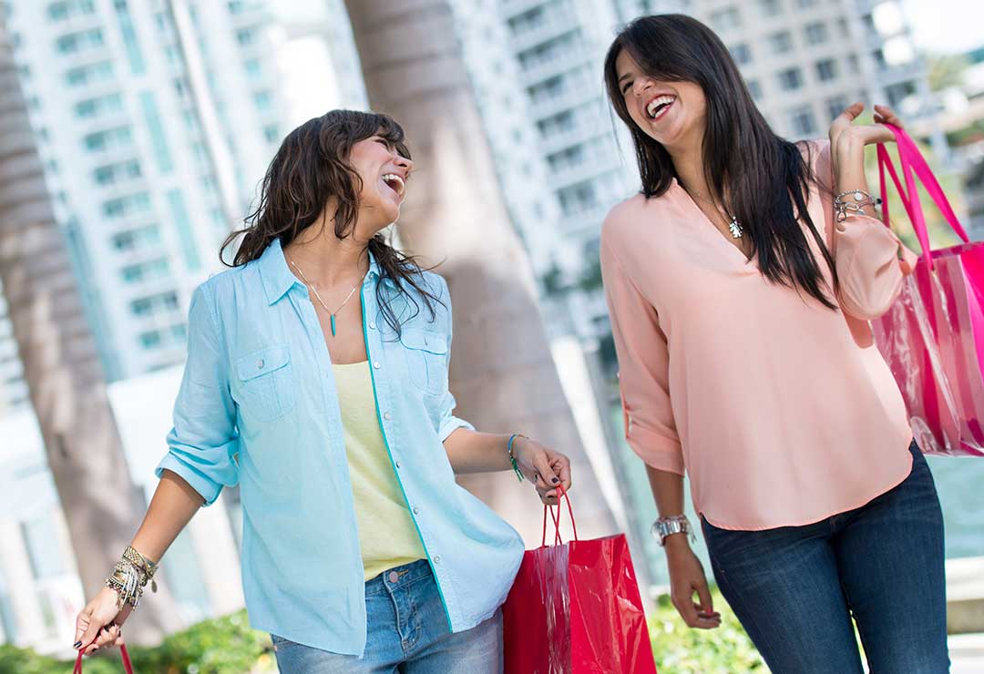 Maps and guide to 17 centers for outlet shopping, outlets i Florida, Shopping i Florida