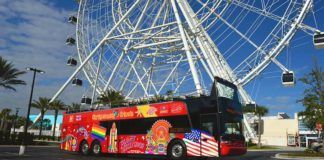 Ny buss i Orlando