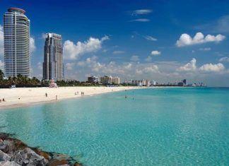 Florida stränder sydöst