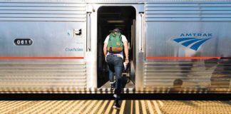åka tåg i USA
