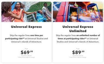 Expresspass hos Universal