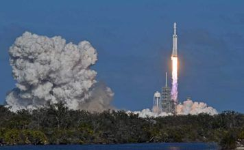 Se SpaceX-raketerna