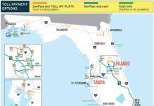 betalvägar i Florida