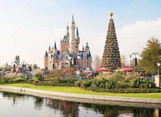 Första Disney-parken öppnar