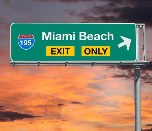 Without a car in Miami Beach, Sin coche en Miami Beach
