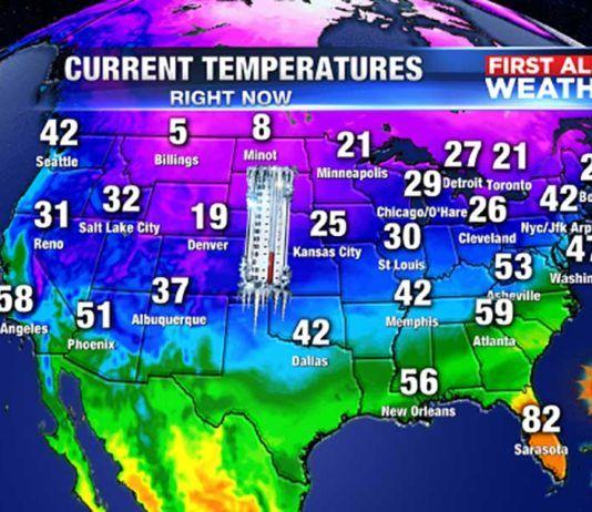 Florida weather average, Promedio del tiempo en Florida