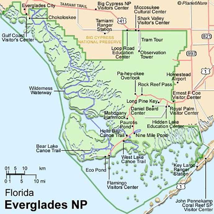 maps of florida
