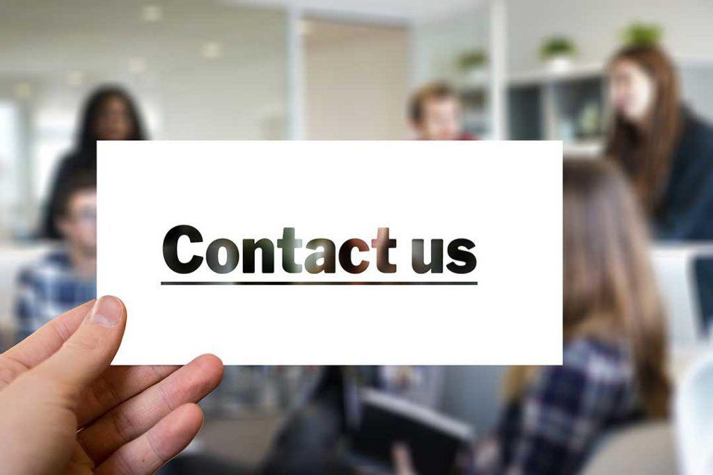 kontakt, contact us, Contáctenos para preguntas sobre Orlando y Florida