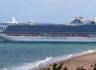 Key West stoppar kryssningsfartyg, Key West ban cruise ships, Cayo Hueso prohíbe cruceros, Key West verbietet Kreuzfahrtschiffe