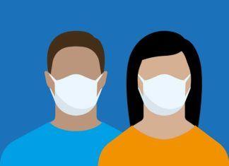 Vaccinerade slipper ansiktsmask